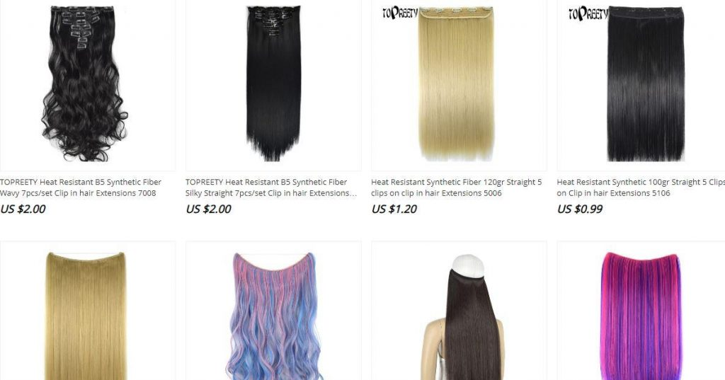 where do wig companies get hair