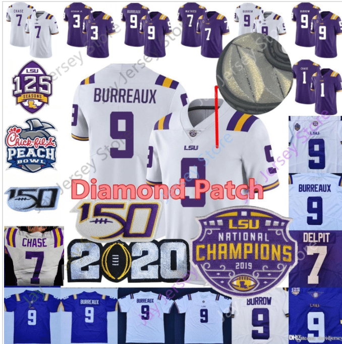 LSU tigers jersey from China