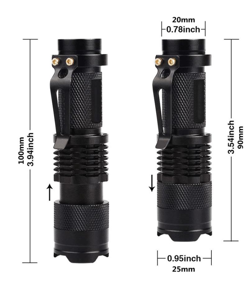 Uv flashlight aliexpress