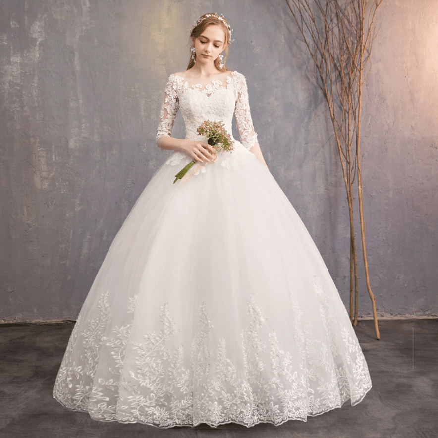 custom wedding dress vendors aliexpress