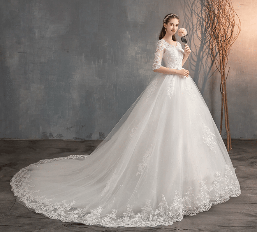 embroidered wedding dress sellers aliexpress