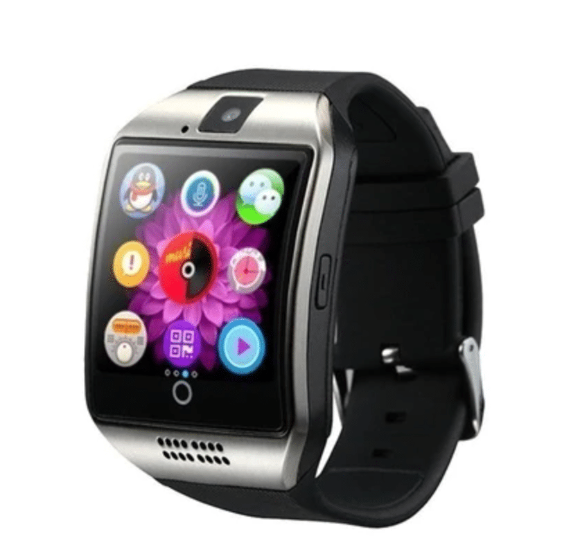 Smart watch with camera option for videos and photos