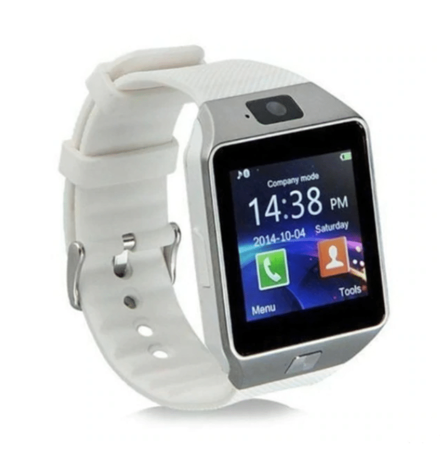 Touch screen smartwatch with camera
