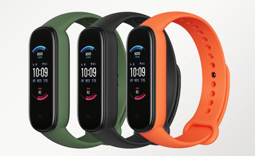 amazfit Band 5 xiaomi smartwatch