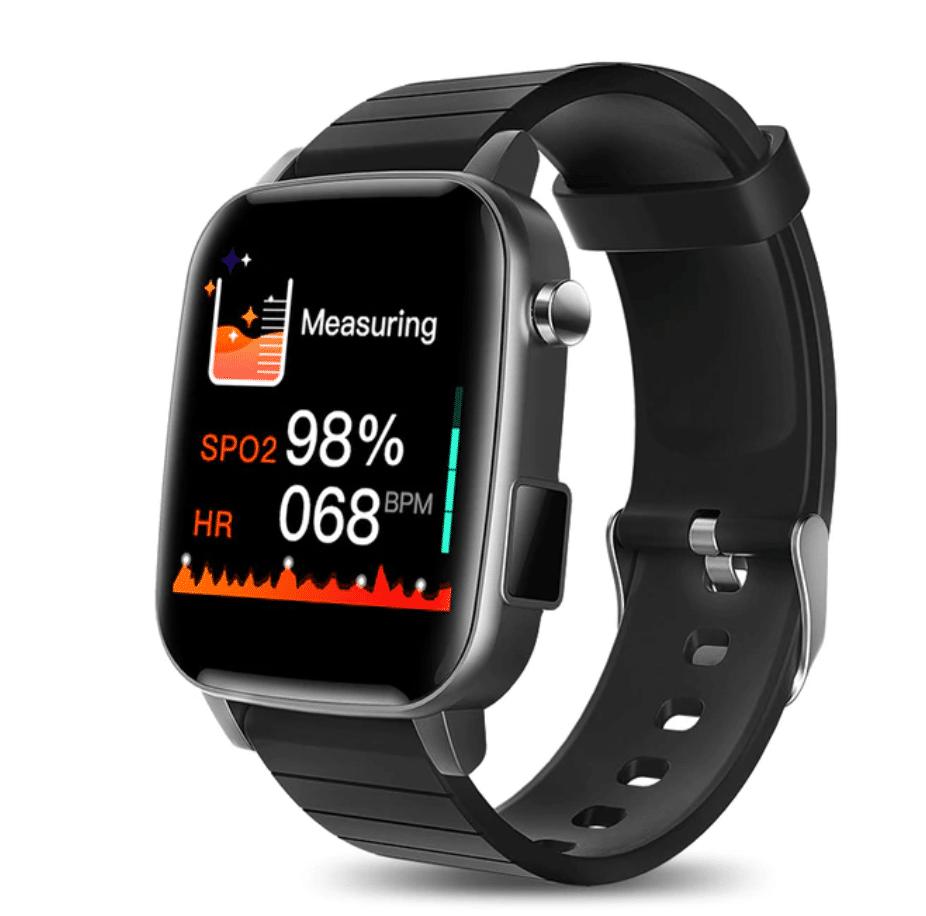cheap smartwatch with temperature sensor