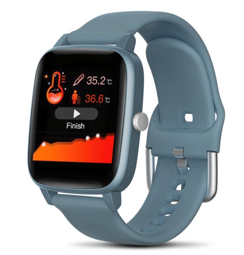 smartwatch with fitness sensor